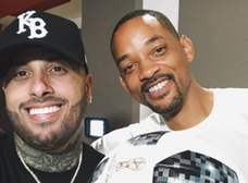 Will Smith cantará la canción oficial del Mundial con Nicky Jam