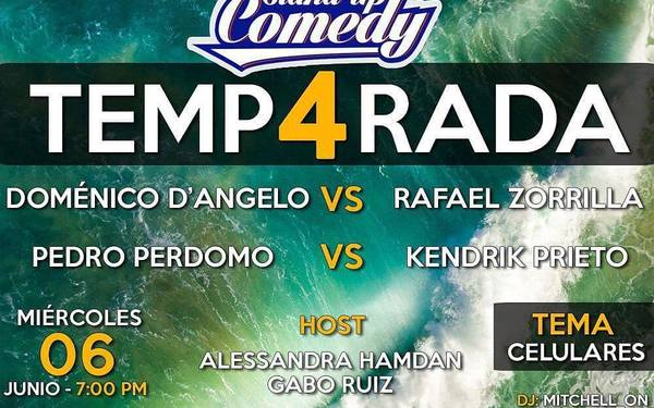TEMPORADA 4 DE STAND UP COMEDY