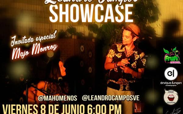 SHOWCASE LEANDRO CAMPOS Y MAJO MONROY - TEATREX EL BOSQUE