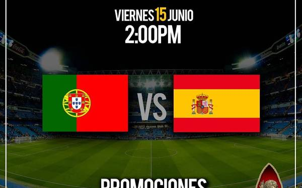 PORTUGAL VS ESPAÑA EN MAROMA BAR