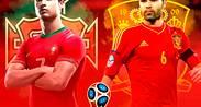 PARTIDO PORTUGAL VS ESPAÑA