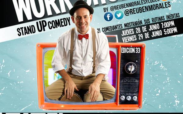 MUESTRA TALLER WORKSHOP EDICIÓN #33 STAND UP COMEDY REUBEN MORALES
