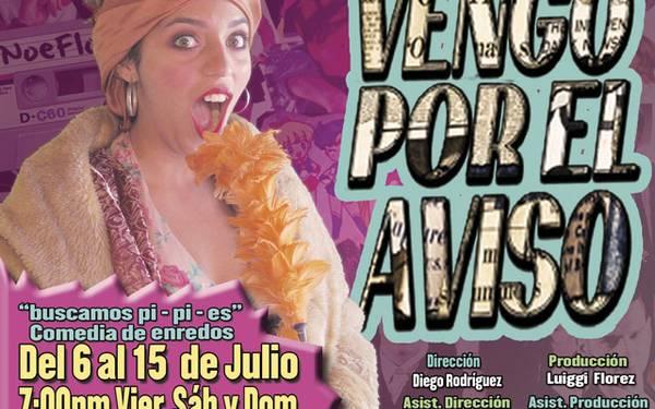 VENGO POR EL AVISO - TEATREX EL BOSQUE