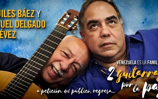 VENEZUELA ES LA FAMILIA, DOS GUITARRAS POR LA PAZ