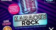 KARAOKE ROCK + BANDA EN VIVO