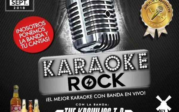 EL MEJOR KARAOKE ROCK CON BANDA EN VIVO