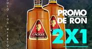 PROMO DE RON 2 X 1