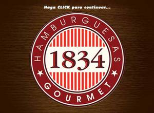 Hamburguesas Gourmet 1834