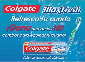 Colgate Max Fresh refresca tu cuarto