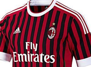 Adidas presenta el nuevo Jersey del AC Milán para la temporada 2011/12