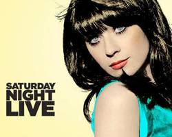 Zooey Deschanel este sábado en Saturday Night Live