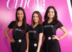 Tres potenciales animadoras son las finalistas de Chica E! Venezuela 2012