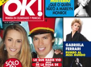 OK! Venezuela revela lo que nadie vio de la boda de Carlos Baute