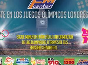 La medalla de oro es para FM Center en los Juegos Olímpicos Londres 2012