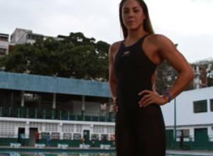 Arlene Semeco lista para ver acción en los 50 metros estilo Libre