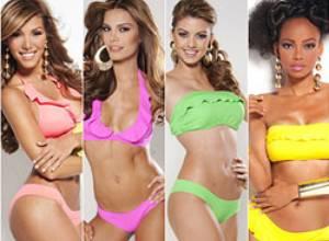 Las candidatas al Miss Venezuela 2012 en traje de baño (fotos oficiales)