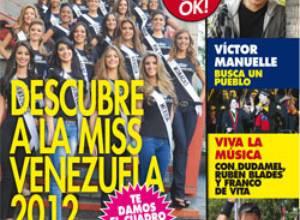 OK! revela el cuadro final del Miss Venezuela 2012