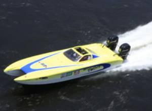 Mecánica y estratégia se fusionan  en la embarcación Miss Twister