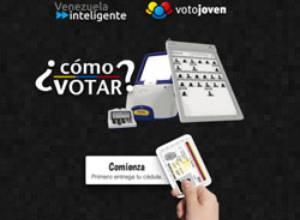 Venezuela Inteligente y VotoJoven nos dicen cómo votar a través de un Simulador