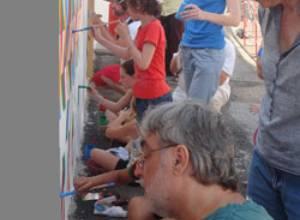 """Participaron en la VI Bienal de Arte Contemporáneo de Marcigny Juvenal  Ravelo  y Atahaulpa Lichy condecorados en Francia con la medalla """"Ciudadano de Honor"""""""