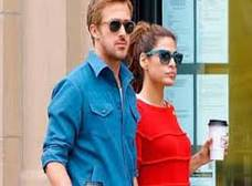 Eva Mendes y Ryan Gosling, amor en todas partes