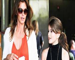 La hija de Cindy Crawford, ¿nueva top model?