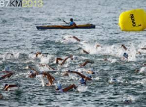 Margarita recibe por tercera vez a los atletas del Triathlon Novo3