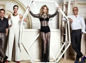 Participantes de la tercera temporada de Project Runway Latin America, diseñan para la cantante Ely Guerra