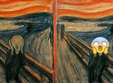 """El grito"" de Edvard Munch inspiró emoticon de WhatsApp"