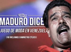 'Maduro dice' el juego de moda en Venezuela