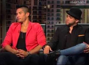 Chino y Nacho en Bayly: Queremos que nuestras canciones tengan contenido social (Video)