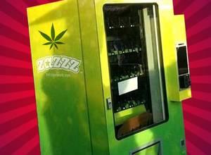¿Una maquina expendedora de Marihuana? ¡Te la tengo!