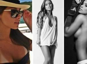 Y el bombón del día es... Gabriella Lenzi ¡La novia de Neymar!