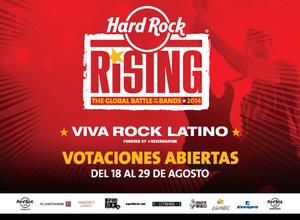 Comienza el proceso de votación del público del  Viva Rock Latino de Hard Rock Café