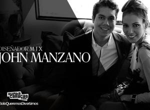 """[DISEÑADOR MIX] John Manzano: """"Estamos en un momento donde están surgiendo nuevos talentos y nuevos nombres"""""""