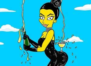 [VIDEO] Kim Kardashian te enseña a sostener una copa con el trasero