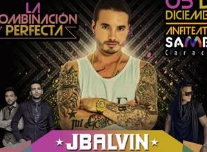 J. Balvin, Alkilados y Aran de las Casas el 5 de Diciembre en el Anfiteatro del Sambil
