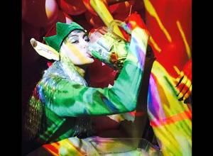 Así celebra Miley Cyrus su navidad
