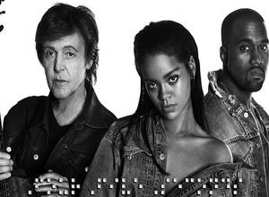 "[AUDIO] ""FourFiveSeconds"", la nueva canción de Rihanna con Paul McCartney & Kanye West"