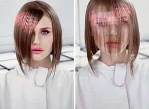 La nueva moda capilar es el cabello pixelado
