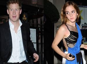 ¿Están juntos el príncipe Harry de Inglaterra y Emma Watson?