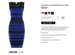 Blanco y dorado o azul y negro, ¿de qué color ves tú el vestido?