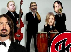 Llegó la versión de Foo Fighters en salsa