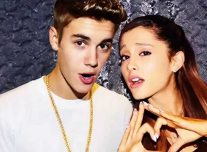 Justin Bieber cantó con Ariana Grande...y se le olvidó toda la canción