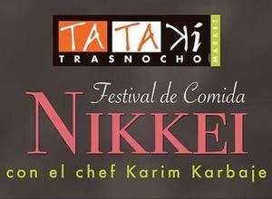 Festival de comida Nikkei en Tataki Trasnocho