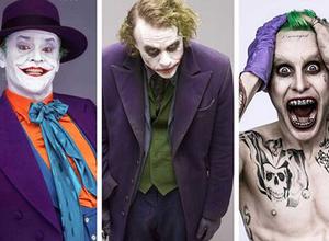 [Antes y ahora] Superhéroes y villanos
