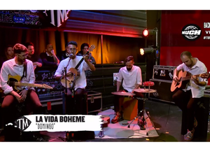 [VIDEO] La Vida Bohème estrenó canción en un programa de televisión argentino