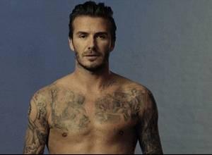 El tatuaje más cómico de David Beckham