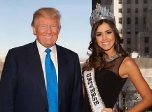 """¡Sigue la novela! Donald Trump llamó """"hipócrita"""" a Paulina Vega"""