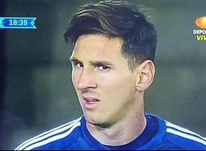 5 caras de Messi para situaciones por las que todos pasamos